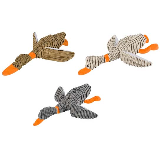 Lazy Bones Soft Squeaky Toy Duck