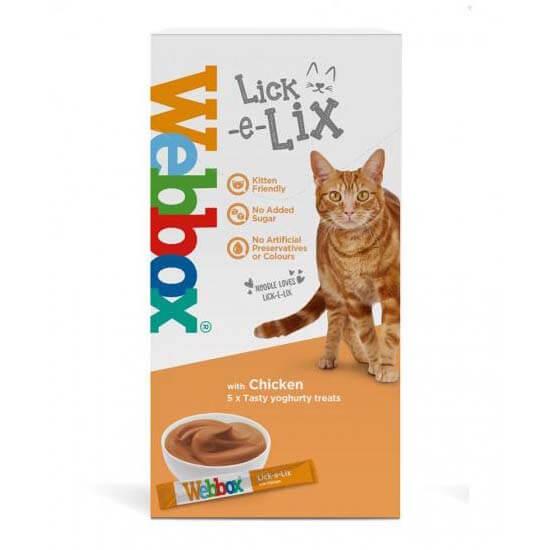 Webbox Lick-e-Lix Cat Treats