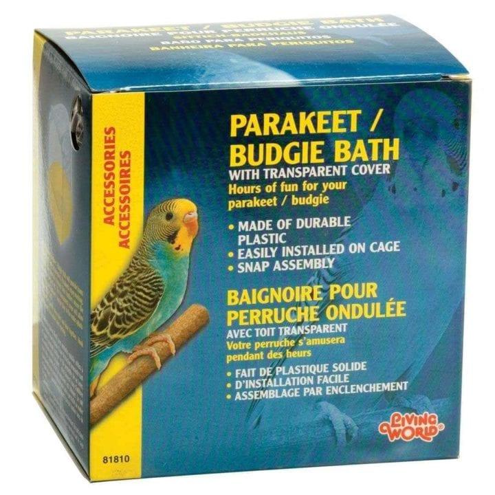 Living World Budgie Bird Bath