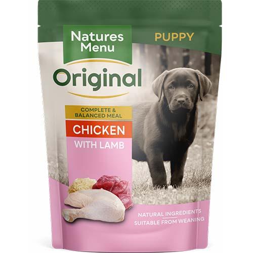 Natures Menu Puppy & Junior Dog Food Pouches