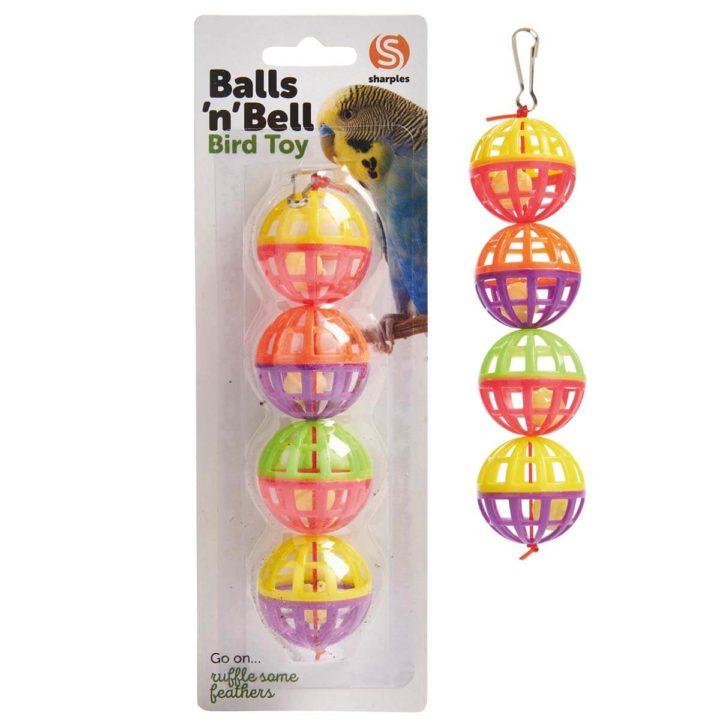 Ruff 'N' Tumble Balls 'N' Bell