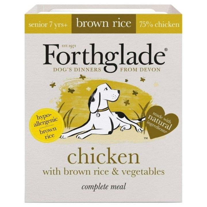 Forthglade Complete Brown Rice Senior Dog Food
