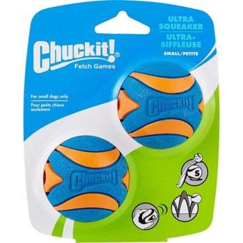 CHUCKIT! Ultra Squeaker Balls - 3 Sizes