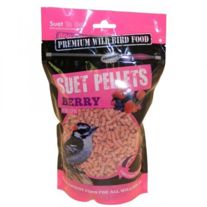 Suet To Go Premium Wild Bird Pellets - Berry