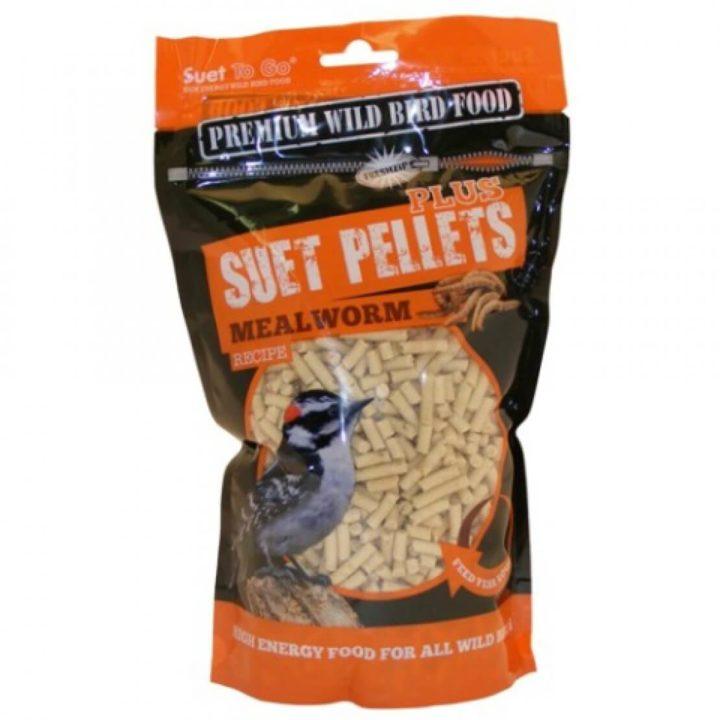 Suet To Go Premium Wild Bird Pellets - Mealworm