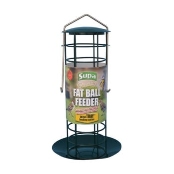 Supa Premium Fat Ball Feeder With Tray