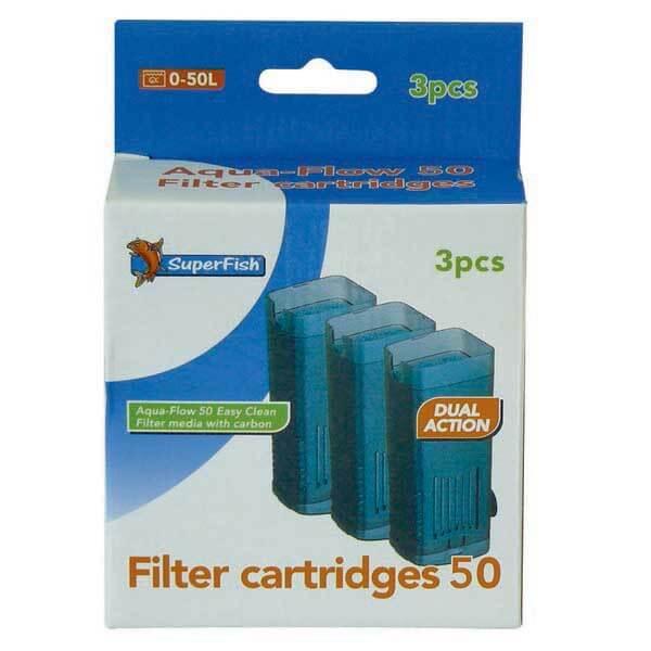 SuperFish Aqua-Flow 50/100/200 Easy Click Cartridges