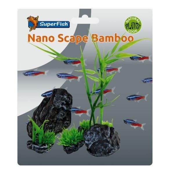 SuperFish Easy Plants Nano Scape Bamboo Set