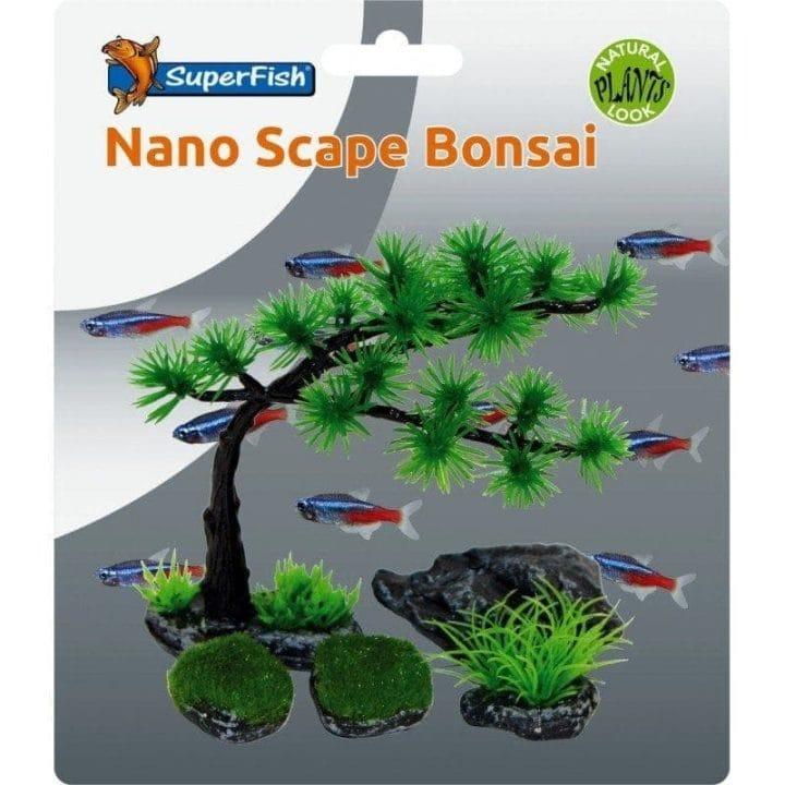 SuperFish Easy Plants Nano Scape Bonsai Set