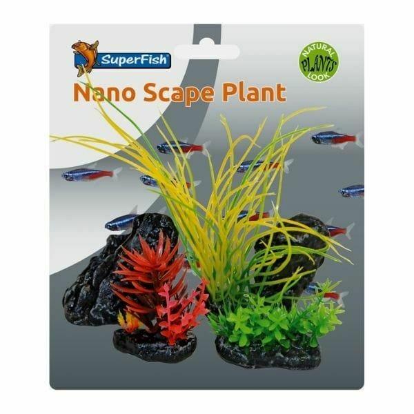 SuperFish Easy Plants Nano Scape Plant Set