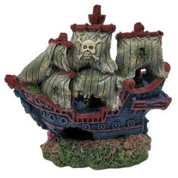 SuperFish Small Shipwreck Aquarium Ornament
