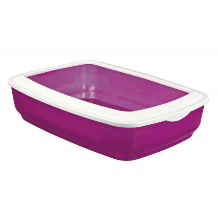 Trixie Mio Litter Tray with Rim - 3 Colours