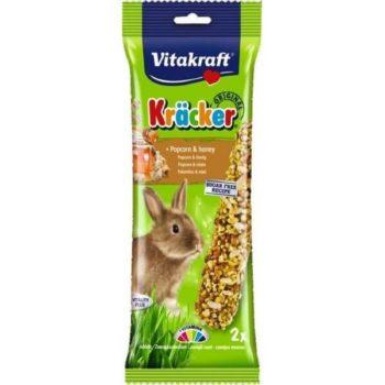 Vitakraft Kracker Rabbit Popcorn Honey
